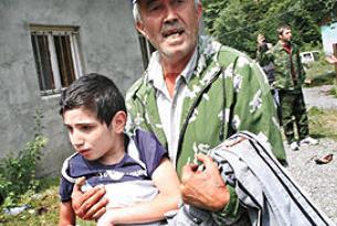 Güney Osetya'da patlama: 3 ölü.19879