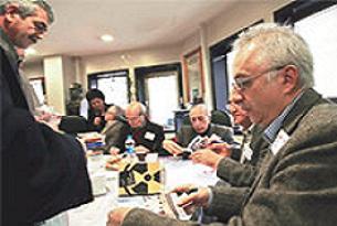 Mustafa Balbay'ı destekleyen gazeteciler.15735