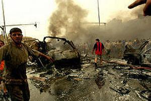 Irak'taki sald�r�da 7 polis ve 1 pe�merge �ld�.15917