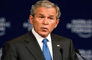 Bush ile Clinton aynı sahnede.8736