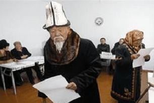Kırgızistan sandık başına gidiyor.10901