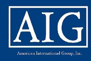 ABD'de AIG şirketi için inceleme.10431