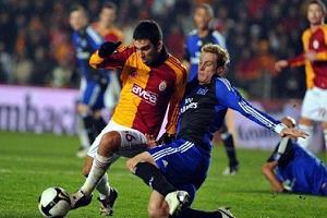 Galatasaray Avrupa'ya veda etti.15537