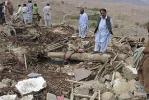 Pakistan'da 400 kişi kaçırıldı.17168