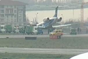 Rus uçağı korkuttu.8494