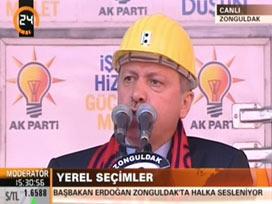 Erdoğan 60'ıncı mitingini yapıyor.18007