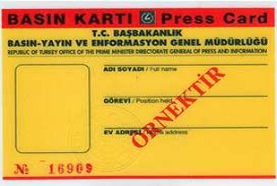 Basın Kartı Komisyonu toplandı.13422