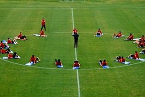 Galatasaray eksik �al��t�.10927