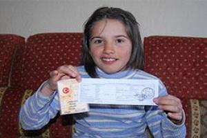 En küçük seçmen 11 yaşında!.35329