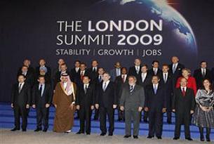 G20 zirvesi Londra'da başladı.14133