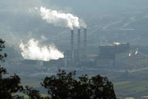 Samsun'da termik santral paneli.8904