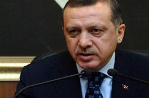 Ba�bakan Erdo�an NATO'yu �ok etti.8444