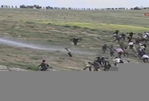 Şanlıurfa'da polisle çatışma .29440