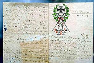 Çanakkale'den 94 yıllık mektup var.19134