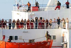 Korsanlar belçika gemisini kaçırdı.16111