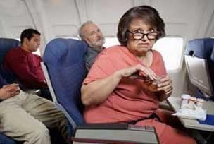 Uçakta sıvı sınırlamaya pilot uygulama.12296