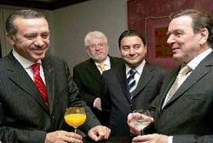 Başbakan Erdoğan, Schröder ile görüştü.13890