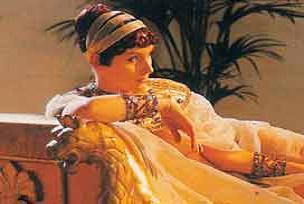 Kleopatra'nın izi bulundu.12341