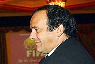 Michel Platini İstanbul'a geldi.11028
