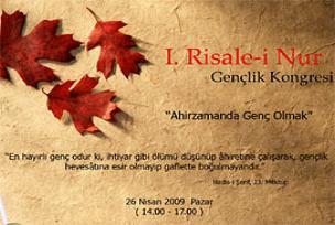 1. Risale-i Nur kongresi başlıyor.15743