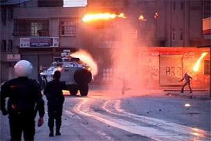 Mersin'de teröristler polisle çatıştı.12338