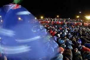 Anzak Koyu'nda şafak töreni düzenlendi.12675