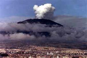 Galeras volkanı faaliyete geçti.10364