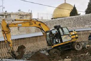 İsrail Mescid-i Aksa'yı yok ediyor.13930