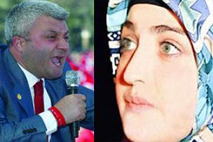 Özkan'la Fadime Şahin irtibattaymış.13942