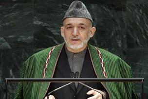 Karzai, devlet başkana tekrar aday.12913