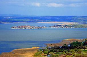 Uluabat Gölü yok olma tehlikesinde.10097