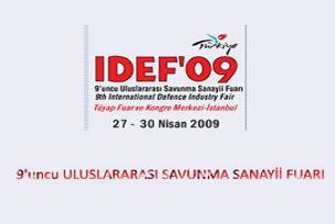 IDEF'09 gözdesi Türk şirketleri oldu.8505
