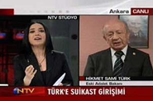 NTV spikeri Sami Türk'ü şoke etti.11001