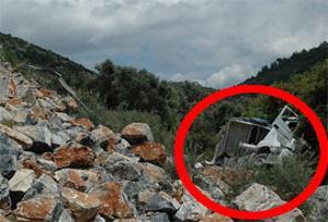50 metreden uçtu, kurtulduğuna inanamadı.15329