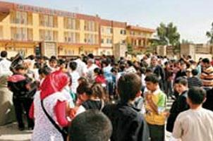 Kuzey Irak'ta Türk okullarına yoğun ilgi.15537