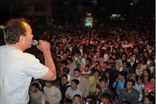 Havza'da Atatürk festivali hazırlığı.14392