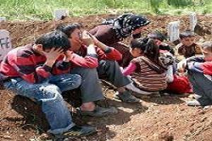 Katliam 70 çocuğu yetim bıraktı.21791