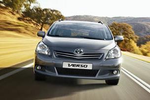 Yeni Toyota Verso satışa sunuluyor.12536