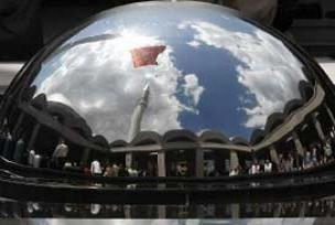 Türkiye'nin en modern camii açıldı.11829