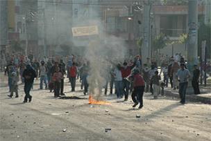 Mersin'de PKK yandaşları olay çıkardı.12636