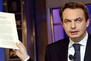 Zapatero'dan krize kar�� yeni paket.9816