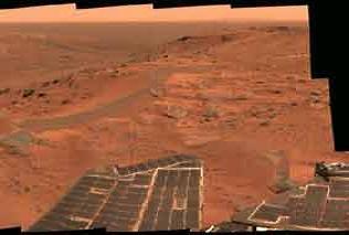 Mars robotu Spirit durumda.10779