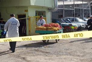Seyyar satıcıya sokak ortasında infaz.16008