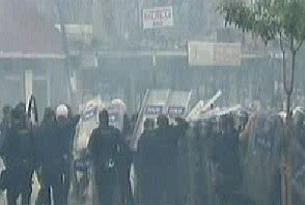 Altınşehir savaş alanına döndü.9466