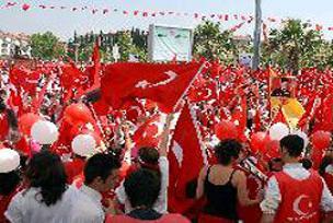 Başkent Ankara 'zor pazar' için ayakta.21683