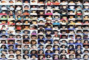 13 yıl boyunca 2 çocuğunun hergün resmini çekti.62219