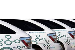 Hidrojenle çalışan otomobiller yollarda.12622