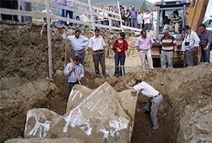 İnşaat kazısında kral mezarı çıktı!.20730