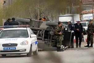 Askeri araç cip ile çarpıştı: 4 er yaralı.13679