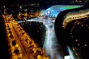 Güneş enerjiyle çalışan ilk stadyum.34280